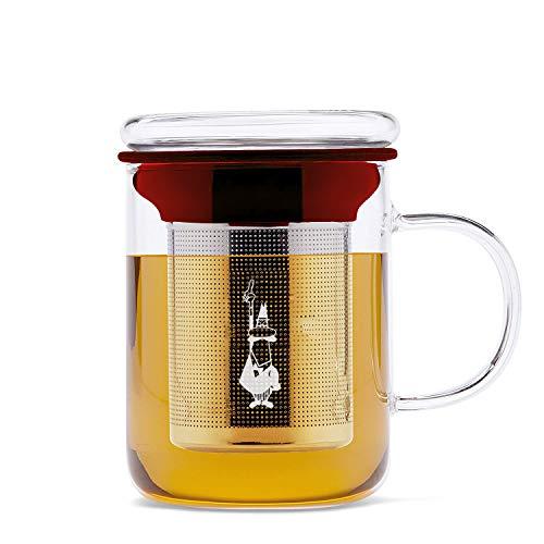 Bialetti Tetera (Mug con infusor), colección Marruecos, cristal