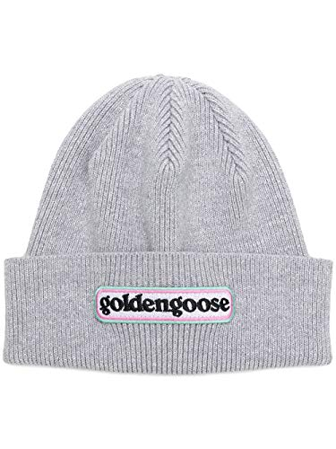 Luxury Fashion   Golden Goose Womens G33WA095A3 Grey Hat   Season Permanent
