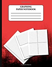 Graphing Paper Notebook: Coordinate Plane Graphing Paper Grid Worksheets