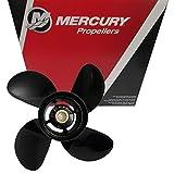 Mercury Spitfire 4-Blade Aluminum Propeller Prop 9.3 x 11P 25-30HP 48-8M8026655