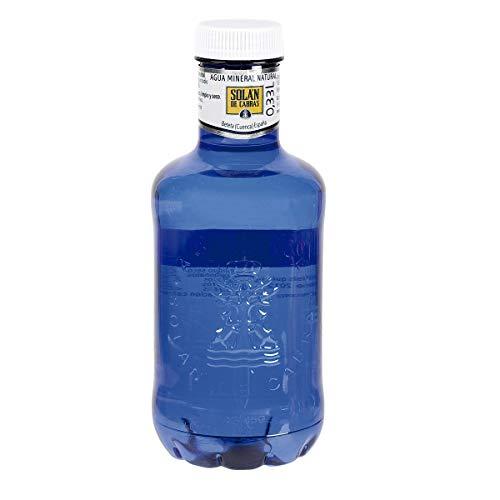 SOLAN DE CABRAS agua mineral natural botella 33 cl