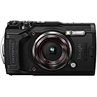 Olympus Tough TG-6 12.0 MP Compact Ultra HD Digital Camera (Black)