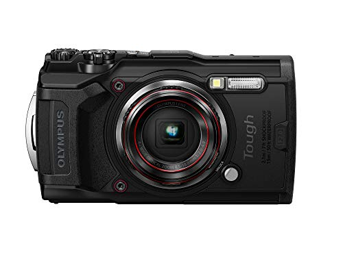 Olympus Tough TG-6 Waterproof Camera, Black
