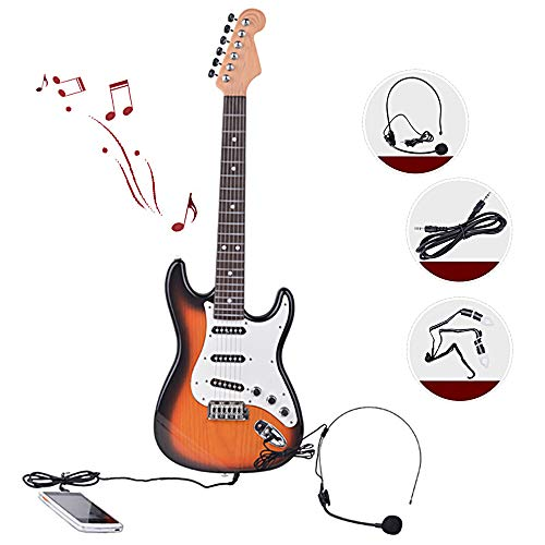 Alfun Guitarra Electrica Infantil Guitarra Juguetes Guitarra Rock Niños