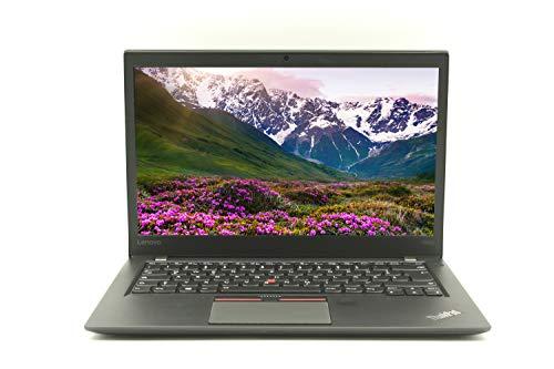 Lenovo ThinkPad T460s 14' FHD (1920x) | Ordenador portátil de negocios I Intel Core i7-6.Gen 8 GB RAM 256 GB SSD Win 10 Pro 1,36 kg negro (reacondicionado)