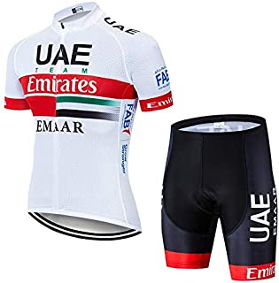 TK#-Cycling Sets - Team UAE Cycling Jerseys Bike Wear clothes Quick-Dry bib gel Sets Clothing Ropa Ciclismo uniformes Mail...