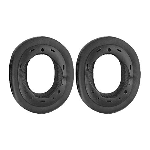 Xingsiyue Replacement Ear Pads for Sony MDR-HW700/MDR-HW700DS - Premium Earphones Protein Leather Foam Ear Cushions (Black, 1 Pair)