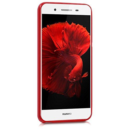 kwmobile Huawei GR3 / P8 Lite SMART Hülle - Handyhülle für Huawei GR3 / P8 Lite SMART - Handy Case in Rot matt - 2