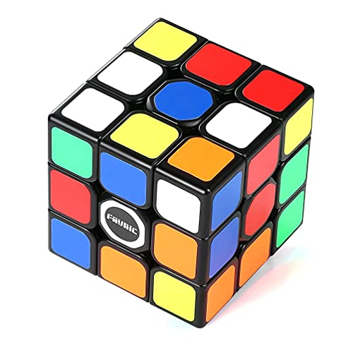 FAVNIC Magic Cube stickerless Speed Cube Smooth Professional Puzzle Toys (Speed Cube Sticker