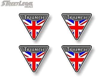 4 Motorcycle British Flag 2.5