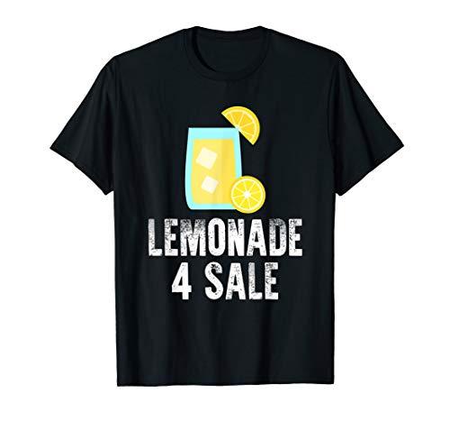 Lemonade 4 For Sale Stand Lemon Gift Funny T-Shirt