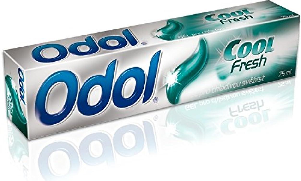 欺く団結死の顎Odol アロエベラ配合歯磨き粉ゲル [原産国:EU] 75ml 3個入り [並行輸入品]