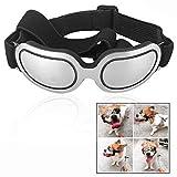 LHKJ Gafas de Sol para Mascotas Perros protección UV para Perros medianos y pequeños