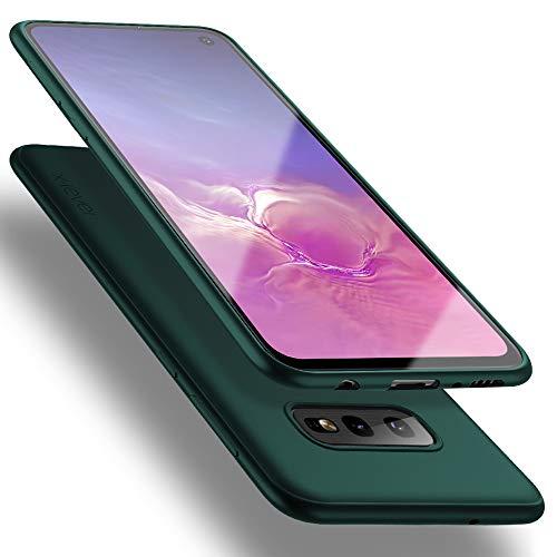 X-level für Samsung Galaxy S10e Hülle, [Guardian Serie] Soft Flex TPU Hülle Superdünn Handyhülle Silikon Bumper Cover Schutz Tasche Schale Schutzhülle Kompatibel mit Samsung Galaxy S10e - Grün