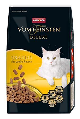 animonda Vom Feinsten Deluxe Adult Katzenfutter, Trockenfutter für große Katzen, aus Geflügel, 10 kg