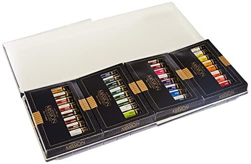 Mijello Mission Gold Water Color Palette Set, 36 Colors