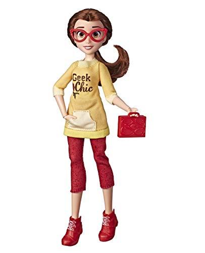 Boneca Disney Princesas Comfy Bela - E8401 - Hasbro