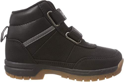 Kappa BRIGHT Unisex-Kinder Hohe Sneakers, Schwarz (Black 1111), 25 EU