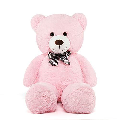 MorisMos Pink Teddy Bear Soft Stuffed Bear Animals Plush Toy...