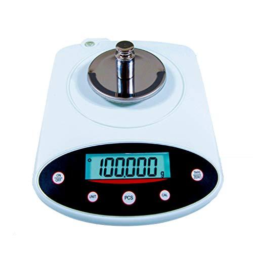 0.001g Präzisionswaage, Feinwaage Elektronische Analysewaage Mit Zählfunktion Zum Präzisen Wiegen (Size : 100gx0.001)