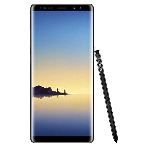 Samsung Galaxy Note 8, 64GB, Midnight Black - For AT&T / T-Mobile (Renewed)