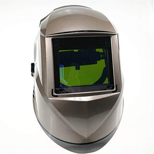 YOBAIH Máscara de Soldadura Superior Tamaño 100x73mm (3.94x2.87) Top Class óptico 1111 4 sensores Shade Rango 4 (3) -13 de oscurecimiento automático de Soldadura Casco Careta Soldar Automatica