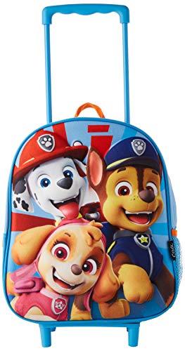 Cerdá, Mochila con Ruedas Infantil 3D de Paw Patrol-Licencia Oficial Nickelodeon Unisex...