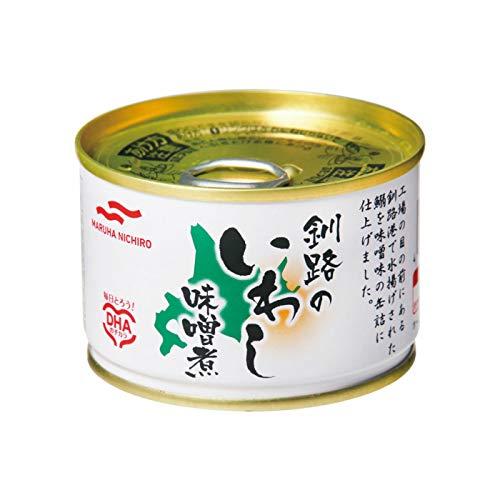 マルハニチロ 釧路のいわし味噌煮 150g×24缶