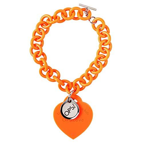 Ops Braccialetto Love Arancione