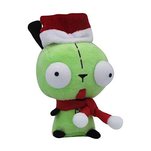 Juguete Felpa Robot Estilo Navidad Peluche muñeca Peluche Juguete 5 Pulgadas colección de Regalo Halloween (Color : Suit Gir, Height : 11cm 30cm)