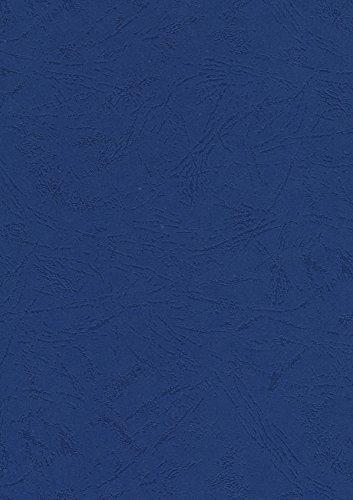 Pavo Einbanddeckel-Lederoptik DIN A4, 250 g/m², 100-er Pack, dunkelblau