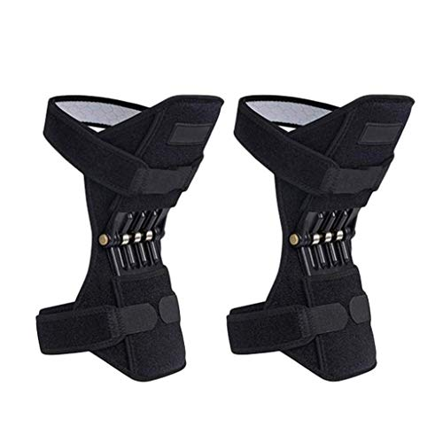 1 Pair Knee Braces Joint Supports, Power Lifts Knee Protection Booster, Knee Stabilizer Pads...