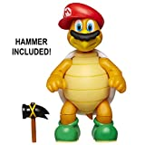 "Nintendo Super Mario Cappy Hammer Bro 4"" Articulated Figure with Hammer"