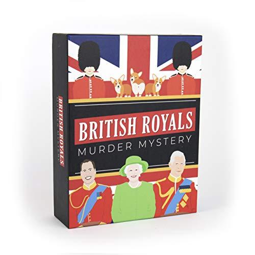 Gift Republic British Royals Murder Mystery Family Board G