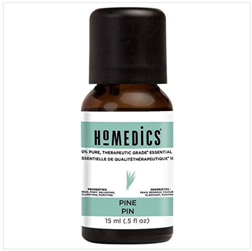 HoMedics Aromatherapy Therapeutic Grade Pine Essential Oil for a Diffuser