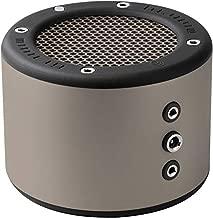MINIRIG 3 Portable Rechargeable Bluetooth Speaker - 100 Hour Battery - Loud Hi-Fi Sound - Silver/Grey