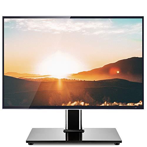 RFIVER Universal TV Ständer Standfuss Standfuß 32-55 Zoll Max. VESA 400x400 mm Fernsehständer Fernseh Fuss Fuß Tischständer Schwenkbar Höhenverstellbar UT1002