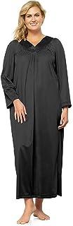 EXQUISITE FORM المرأة رائعة الشكل المرأة طويلة الأكمام الكاحل طول اللباس 50107 نوم
