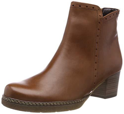 Gabor Shoes Comfort Basic, Botines para Mujer, Marrón (Whisky (Micro) 52), 38.5 EU