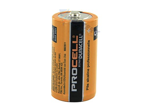 Our #2 Pick is the Duracell C12 Procell Alkaline Batteries