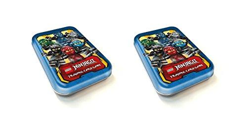 LEGO Ninjago Sammel Karten Box, Mini Tin, Dosen für Trading Cards in Blau
