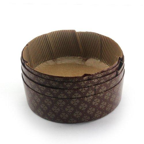 パール金属 アンテノア 紙製 デコレーションケーキ 焼型 16cm 5枚入 D-3533