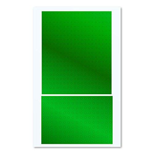 ハイキューパーツ 円形メタリックシールS 1.0-2.8mm グリーン 1枚入 プラモデル用シール CMS-S-GRN