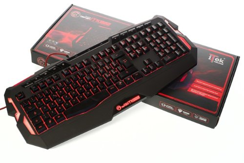 iTek Scorpion Deep Sea Tastiera Gaming Retroilluminata,...