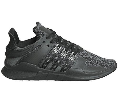 Adidas Herren EQT Support ADV Sneaker, Schwarz Negbas/Versub, 43 1/3 EU