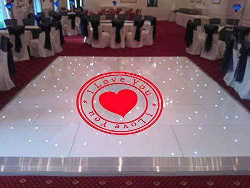 wedding dance floor wall decal dance floor wall sticker wedding wall vinyl wedding decor wedding favors decal ae1167