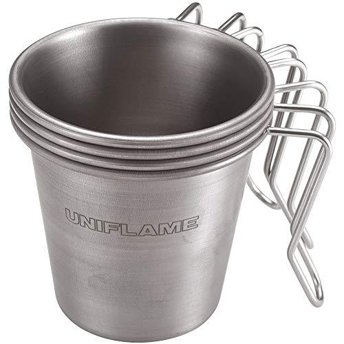 こちらのマグカップはデザインの美しさだけでなく、スタッキング可能なので、家族や友人達とアウトドアに出かける際、スタッキングして持ち運べて◎。