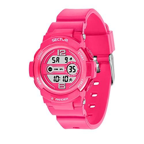 SECTOR NO LIMITS Reloj Unisex Adultos de Digital con Correa en Plástico R3251525503