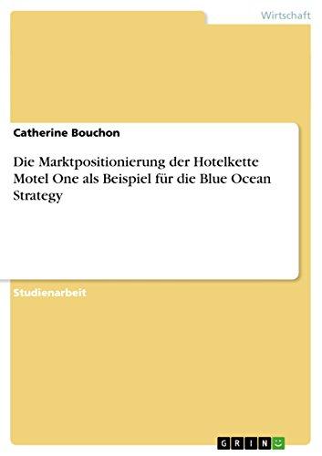 Die Marktpositionierung der Hotelkette Motel One als Beispiel für die Blue Ocean Strategy