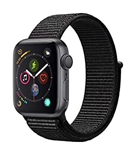 AppleWatch Series4 (GPS, 40mm) - Space Gray Aluminum Case with Black Sport Loop (B07HDH6KYL) | Amazon price tracker / tracking, Amazon price history charts, Amazon price watches, Amazon price drop alerts